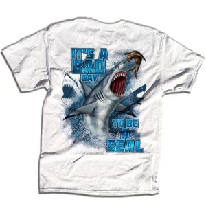 3949604c51 It's A Bad Day To Be A Seal T-Shirt. Get Your Shark Week Shirt